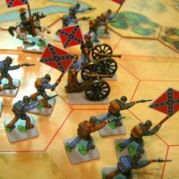 Board Game with Confederate Flag