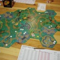Magic Realm game in progress (courtesy: Martí Cabré)