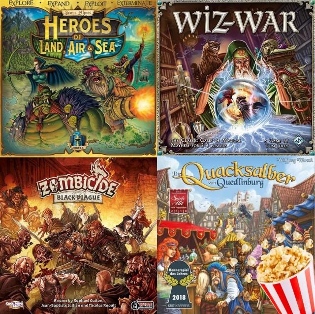 Board Game Barrage: Popcorn Games
