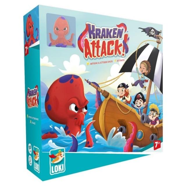 Kraken Attack Announced by Iello